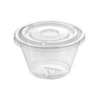 Clear PET plastic cup 210ml Ø92mm  H55mm