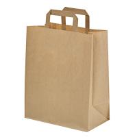 Kraft/brown paper carrier bag  320x170mm H340mm