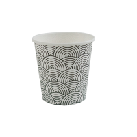 """Tokyo"" design coffee cup for vending machine 120ml Ø62mm  H60mm"