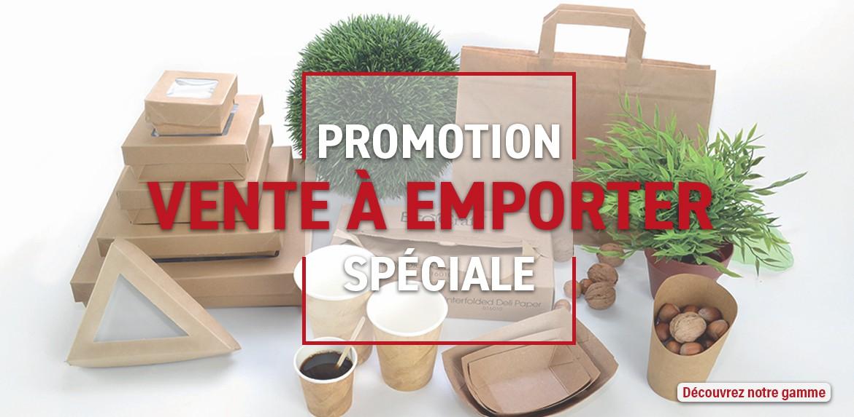 Promotion spéciale vente à emporter
